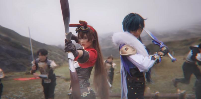 cover cosplay Genshin Impact