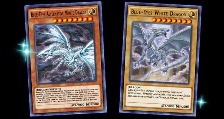 Anniversaire Yu-Gi-Oh Dragon Blanc aux Yeux Bleus