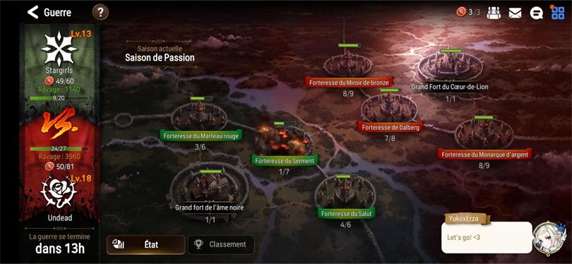 Mode de jeu guerre de guildes