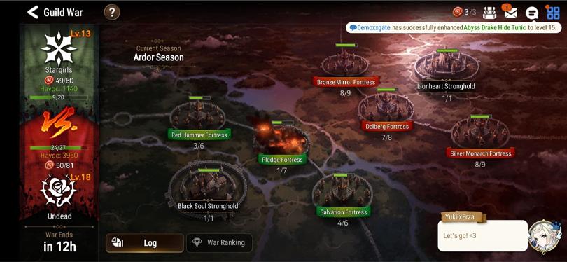 Guild Warfare Game Mode