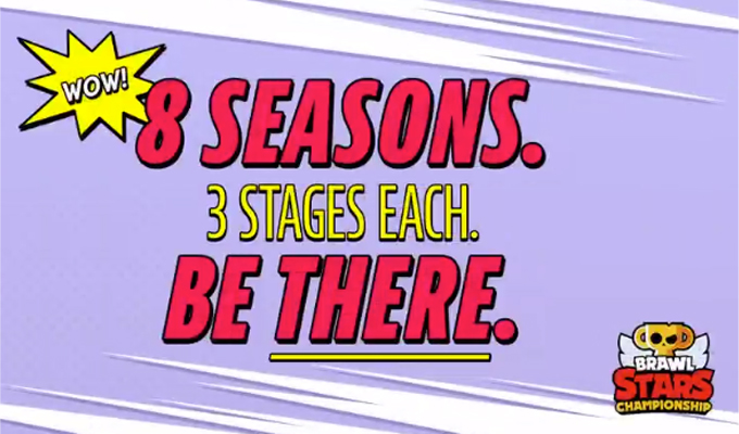 8 saisons, 3 étapes pour le Brawl Stars Championship 2021