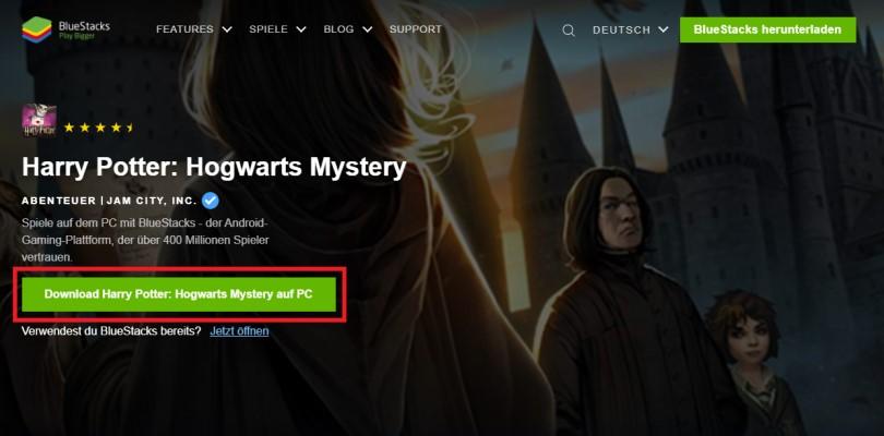 Laden Sie einen Android-Emulator herunter, um auf Harry Potter zu spielen: Hogwarts Mystery auf PC