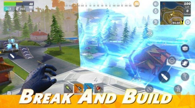 Battle Royale mobile - Creative Destruction