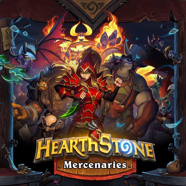 Hearthstone mode de jeu Livre des Mercenaires