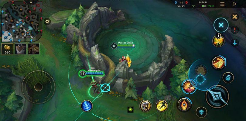 Rakan Wild Rift traverse un mur