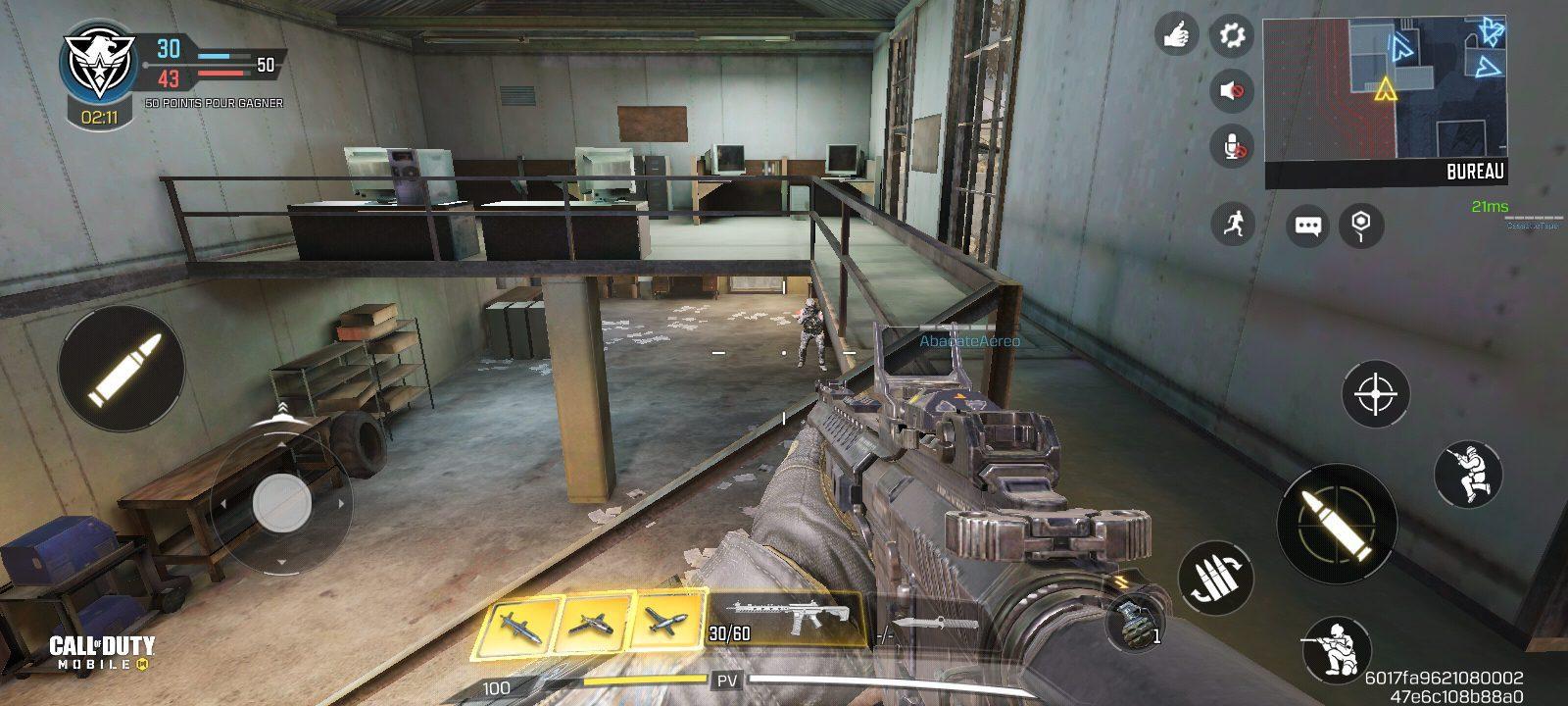 Astuces Call of Duty Mobile, attaquer en hauteur