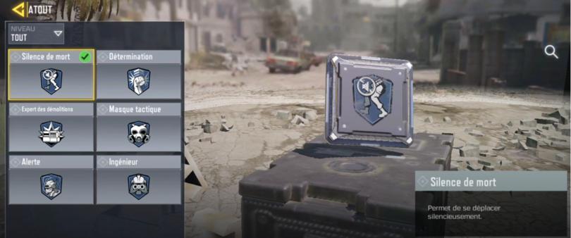 Atouts dans Call of Duty Mobile