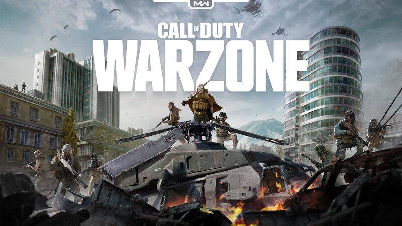 Call of Duty : le visuel de Warzone
