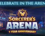 Anniversaire Disney Sorcerer's Arena