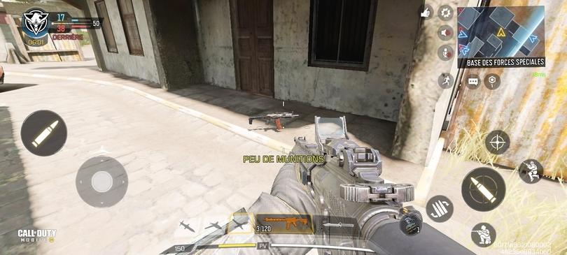 Partie Multijoueur sur Call of Duty Mobile