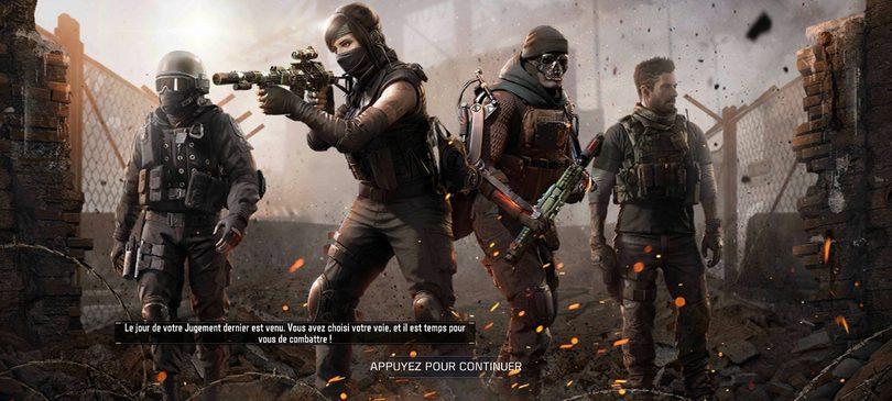 Skins Call of Duty mobile sur le Passe de Combat