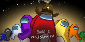 Among us Mod Sheriff astronaut with a hat