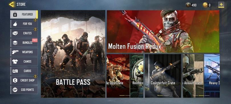 Tipps Call of Duty mobile : Kaufen Sie den Combat Pass