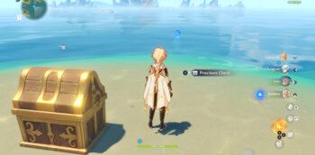 revenus mobile Genshin impact : treasure chest