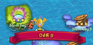 défi 9 Merge Dragons