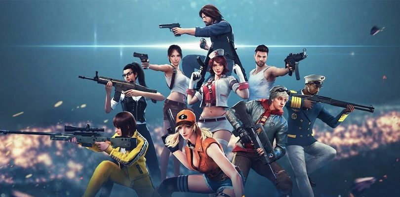 Free Fire personnages