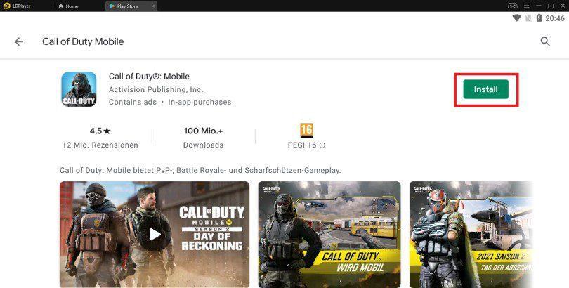 Call of Duty Mobile auf PC installieren