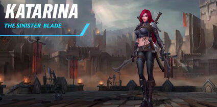Katarina Wild Rift nouveau patch