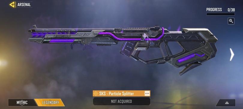 Legendäre Waffe