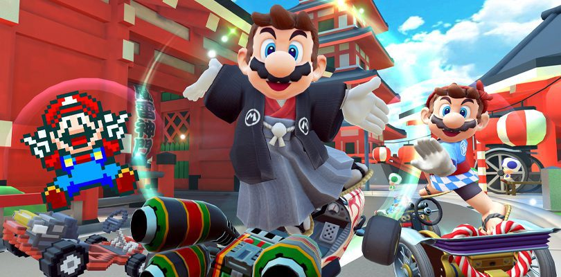 The Mario Tour: events and giveaways on Mario Kart Tour