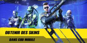 Obtenir des skins dans Call of Duty Mobile