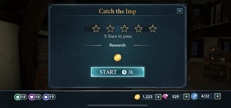 5 Star Quest Harry Potter Hogwarts Mystery