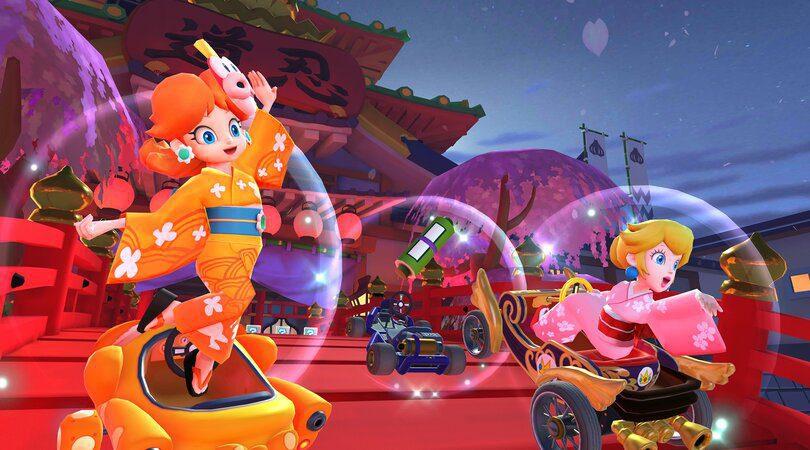 Pitch et Daisy dans l'événement Ninja Tour