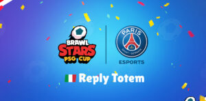 PSG Cup Reply Totem