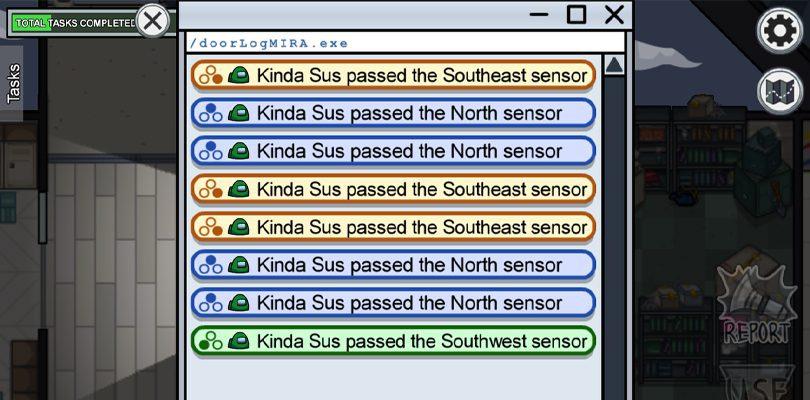 Sensors sur la map Mira HQ