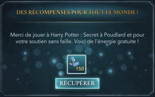 énergie Harry Potter: Hogwarts Mystery