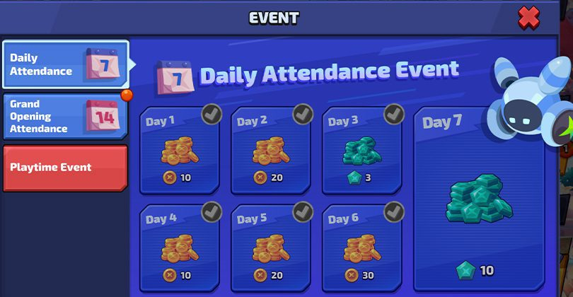 Smash Legends guide event