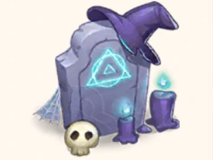 Witch Grave Merge magic
