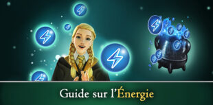 Guide énergie Harry Potter: Hogwarts Mystery