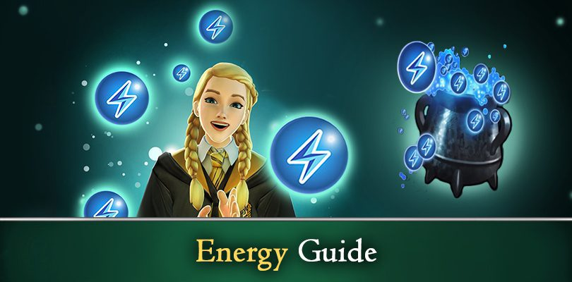 Guide energie Harry Potter: Hogwarts Mysterium
