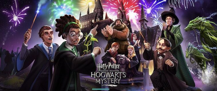 Page chargement guide Harry Potter Hogwarts Mystery