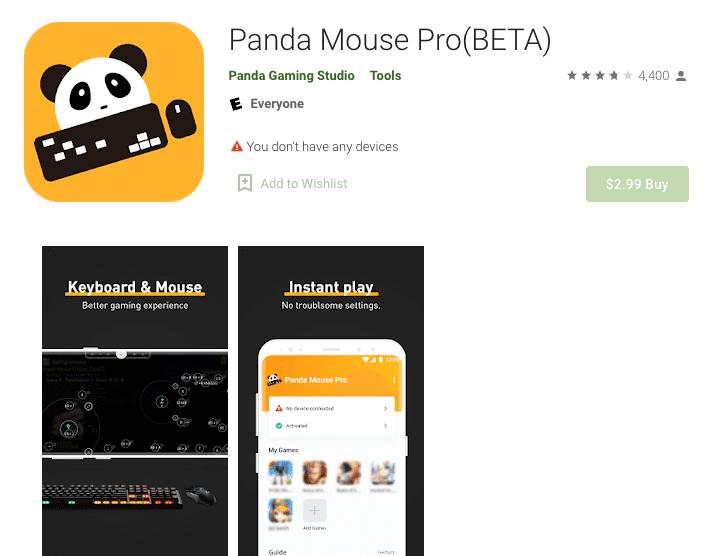 Panda Mouse Pro Anwendung