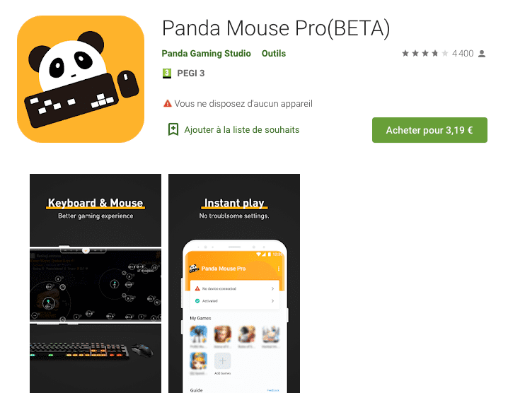Panda Mouse Pro Application