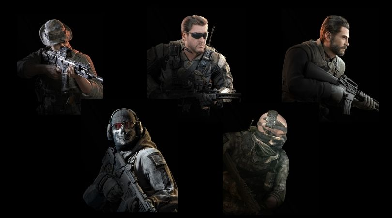 Personnages principaux de Call of Duty