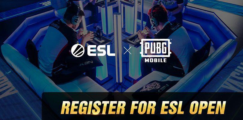 ESL Open Registration PUBG Mobile