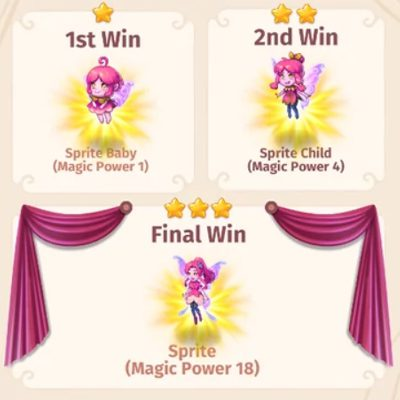 Récompenses Merge Magic Challenge 18
