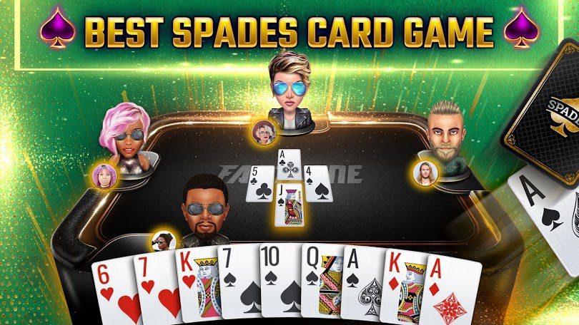 Casino mobile : jeu Spades Royale