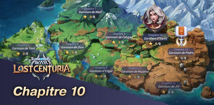 Chapitre 10 Lost Centuria
