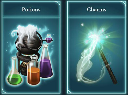 Zaubersprüche und Tränke