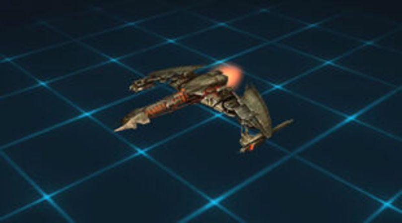 Le vaisseau Star Trek Fleet Command Classe D3