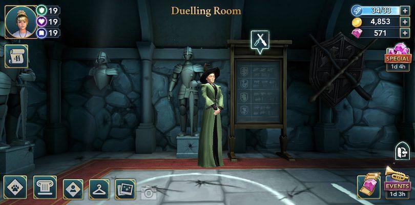 Duellraum Harry Potter: Hogwarts Mystery