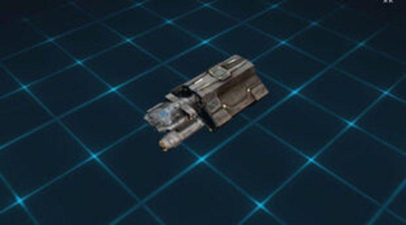 Le vaisseau Star Trek Fleet Command ECS Fortunate
