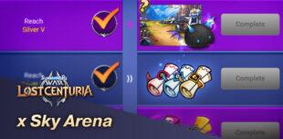 évent Sky Arena x Lost Centuria