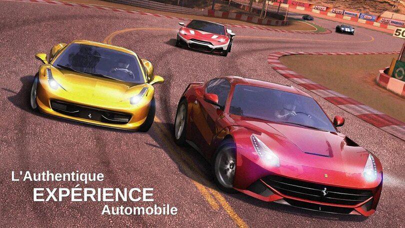 Meilleurs jeux de voiture Android et iOS : GT Racing 2
