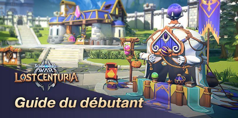 Guide Lost Centuria pour débuter