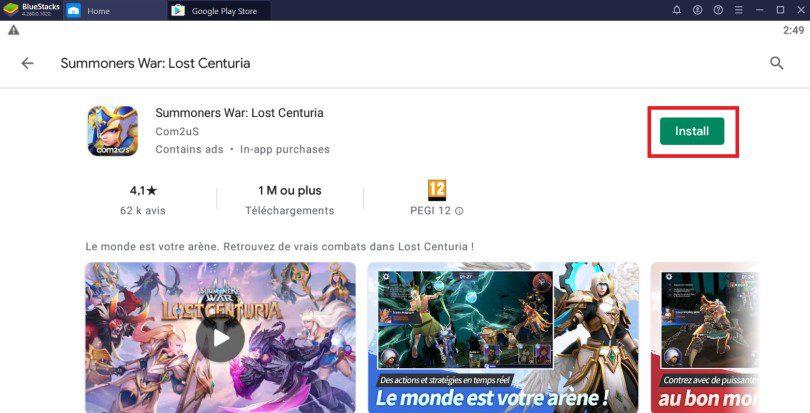 Install Lost Centuria on PC